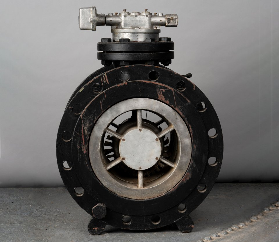 Industrial turbine gas meter