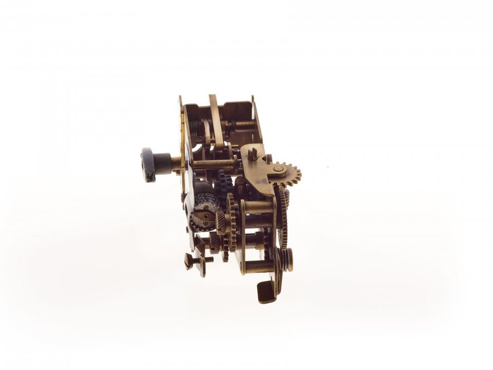 Slot mechanism from a token gas meter